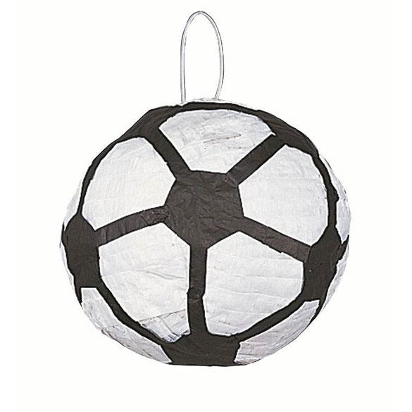 Piñata artesana balón de fútbol