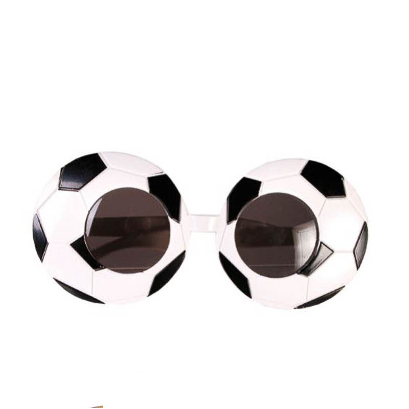 Gafas con forma de balón de futbol