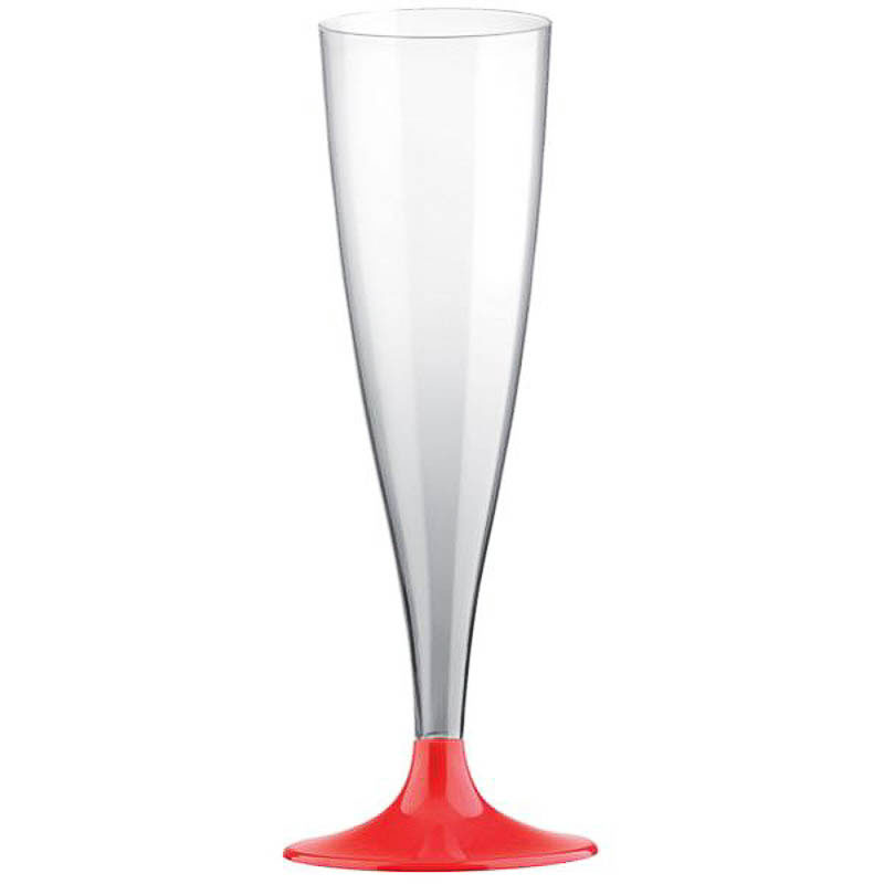 Copas champagne plástico, Pack 6 u.