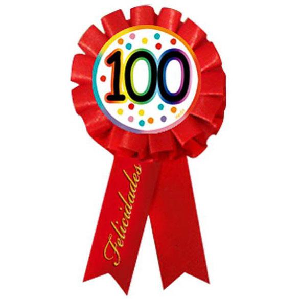Escarapela cumpleaños 100 años