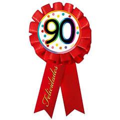 Escarapela 90 cumpleaños