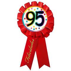 Escarapela 95 cumpleaños