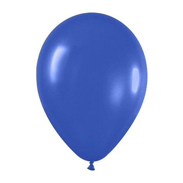 Globos de Látex Azules. Pack 50 unidades