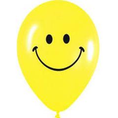 Globos de Látex Smile o Sonrisitas. Pack de 10 unidades