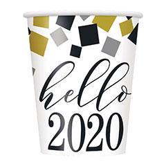 Vasos Hello 2020 266 ml, Pack 8 u.