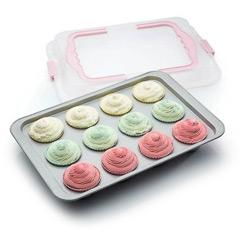 Molde para cupcakes antiadherente 36,50 x 25,00 cm - Ítem