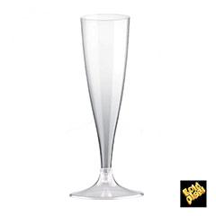 Copas champagne plástico, Pack 20 u
