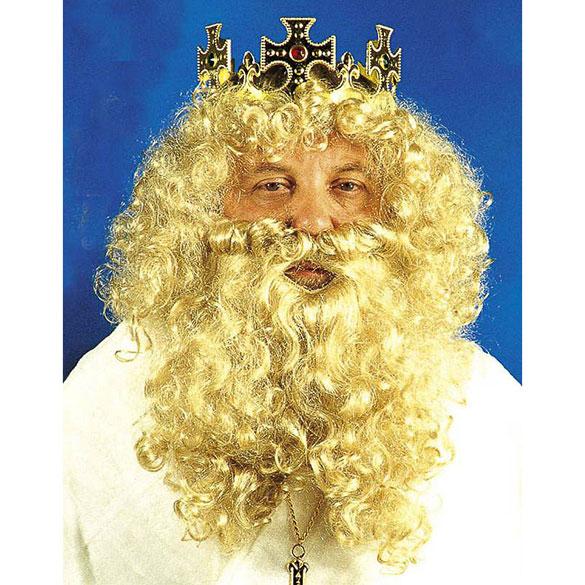 Set Rey Mago peluca y barba