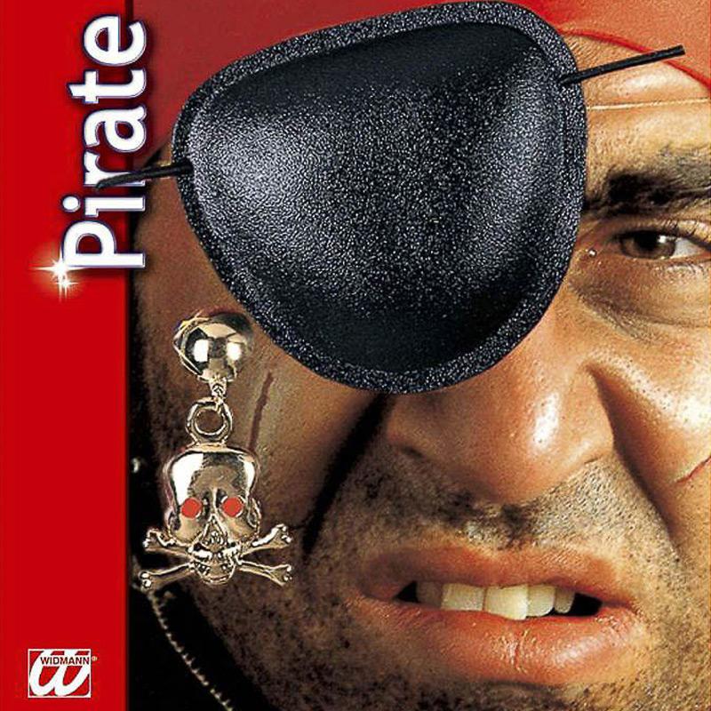 Set de pirata parche y pendiente