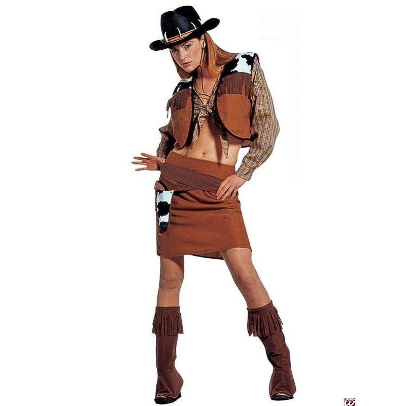 Disfraz vaquera, Cowgirl