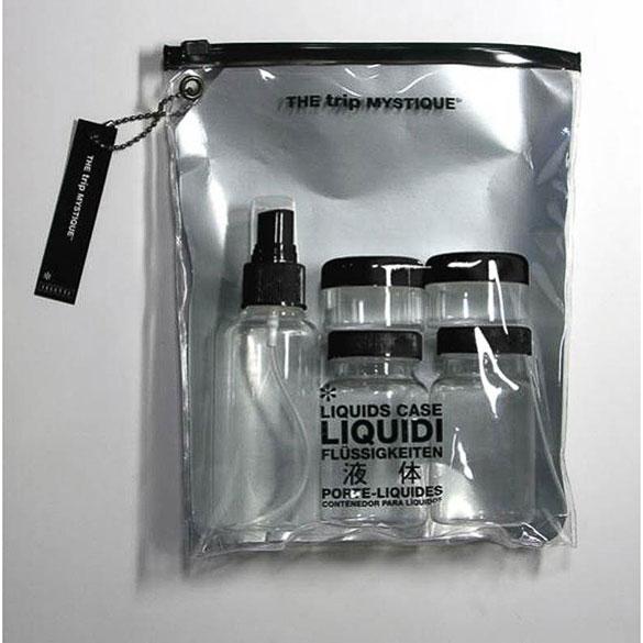 Kit líquidos de viaje avión 100 ml