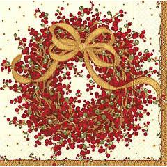 Servilletas Navidad 25 x 25 cm, Pack 20 u.