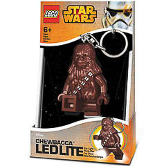 Llavero Star Wars - Chewbacca luz Led