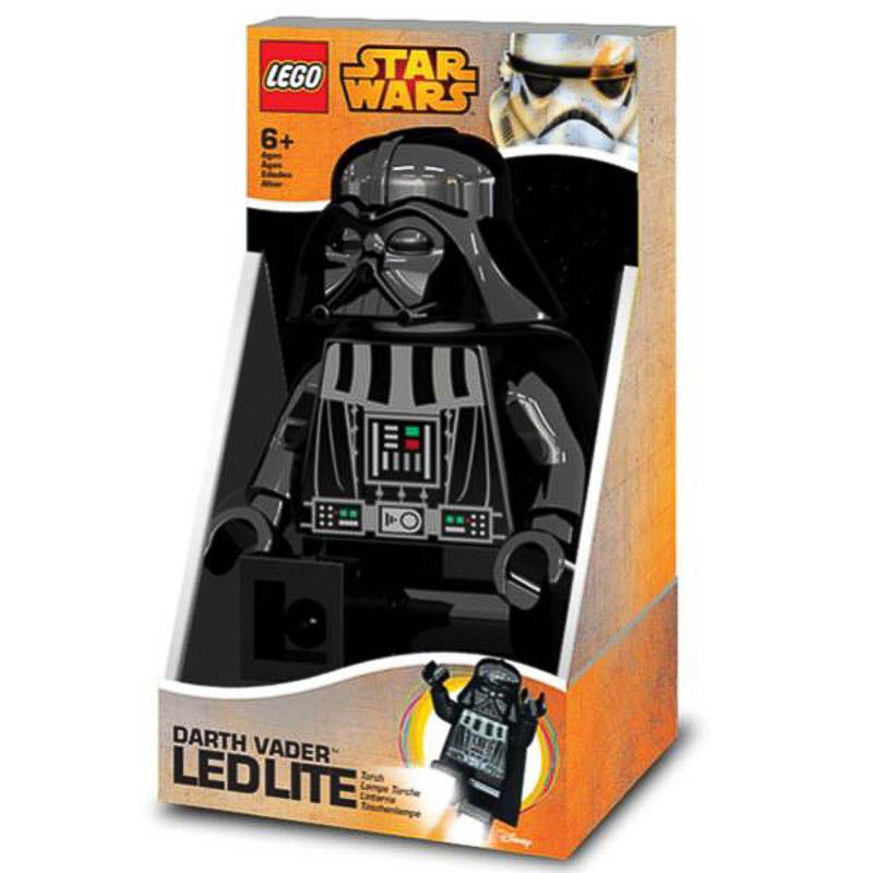 Figura Lego Darth Vader, articulable con Luz Led