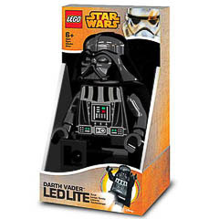 Figura Lego Darth Vader, articulable con Luz Led