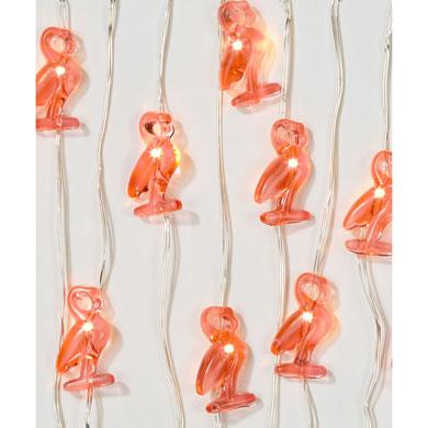Guirnalda Flamencos con luces LED