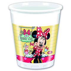 Vasos Minnie plástico 200 ml, Pack 8 u.