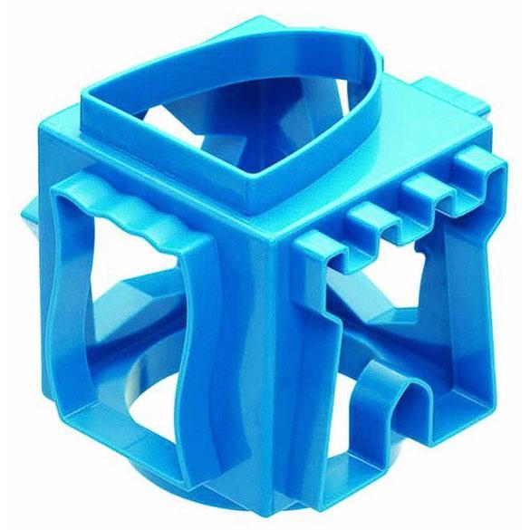 Cortador de galletas cubo azul 6 formas