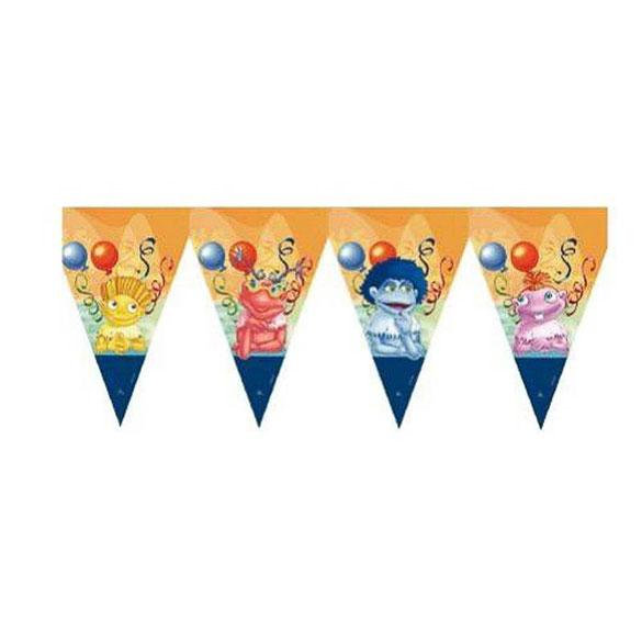 Guirnalda Banderines Los Lunis de plástico
