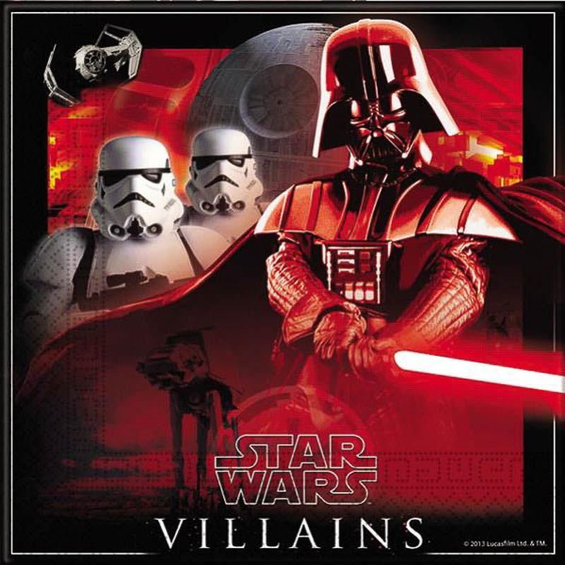 Servilletas Star Wars 33 x 33 cm, Pack 20 u.