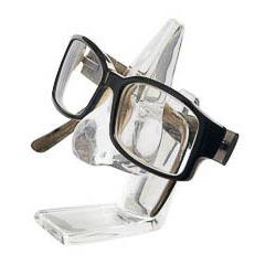 Soporte para gafas modelo nariz