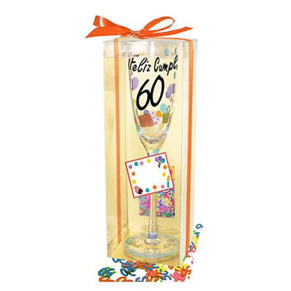 Copa y confeti 60 años