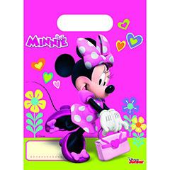 Bolsas de plástico Minnie Mouse piñata, Pack 6 u.