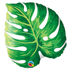 Globo hoja Tropical