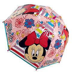 Paraguas Minnie Mouse transparente burbuja