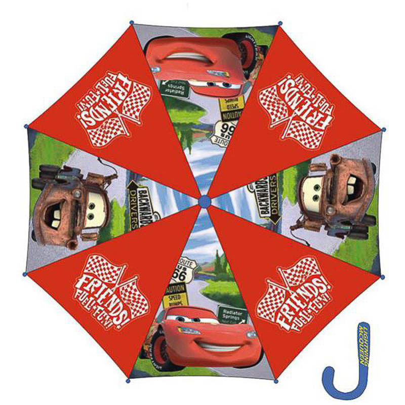 Paraguas Cars tela roja