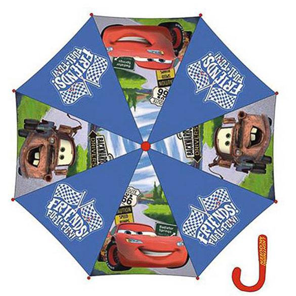 Paraguas Cars tela azul