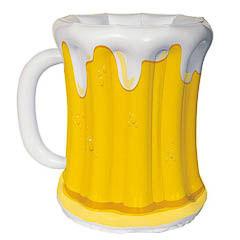 Jarra de cerveza hinchable para enfriar las bebidas