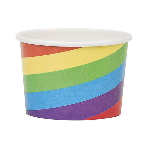 Vasos mini para helados, Pack 8 u.