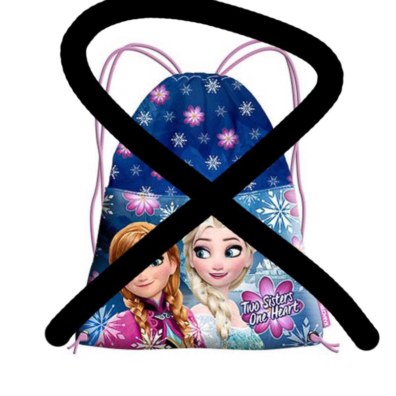 Saco merienda Frozen