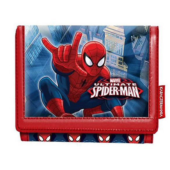 Billetera Spiderman infantil