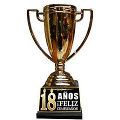 Trofeo copa 18 años