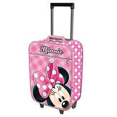 Mochila Minnie Mouse con dos ruedas