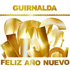 Guirnalda articulada Feliz Año Nuevo