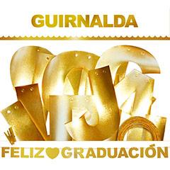 Guirnalda articulada Feliz Graduación
