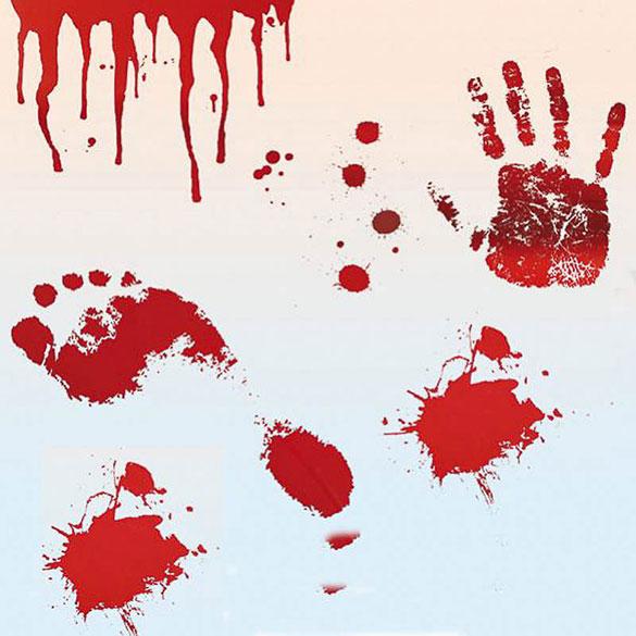 Vinilos Sangre. Decoración Halloween