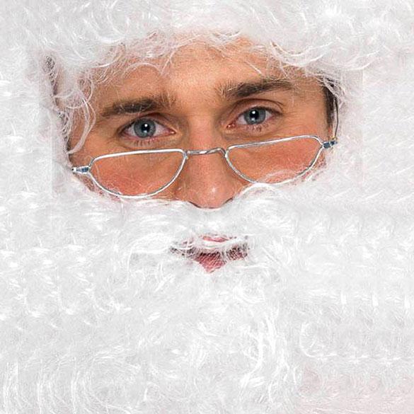 Gafas Papá Noel o abuelo sin cristal