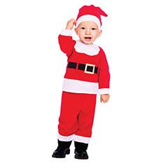 Traje Papá Noel infantil