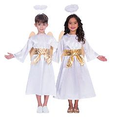 Traje angel infantil