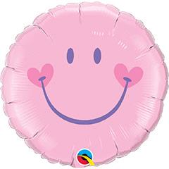 Globo Smile, sonrisa feliz rosa