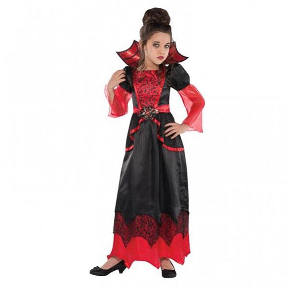 Disfraz Reina vampira infantil