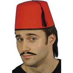 Sombrero moro tarbush de fieltro