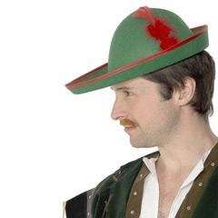 Sombrero Robin Hood de fieltro
