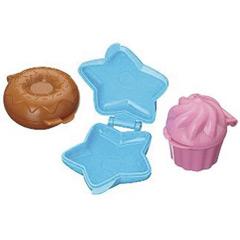 Moldes con formas Cake Pops, Pack 3 u.