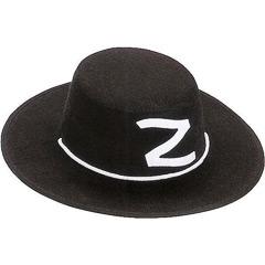 Sombrero Zorro de fieltro