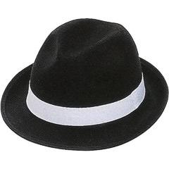 Sombrero gánster de fieltro